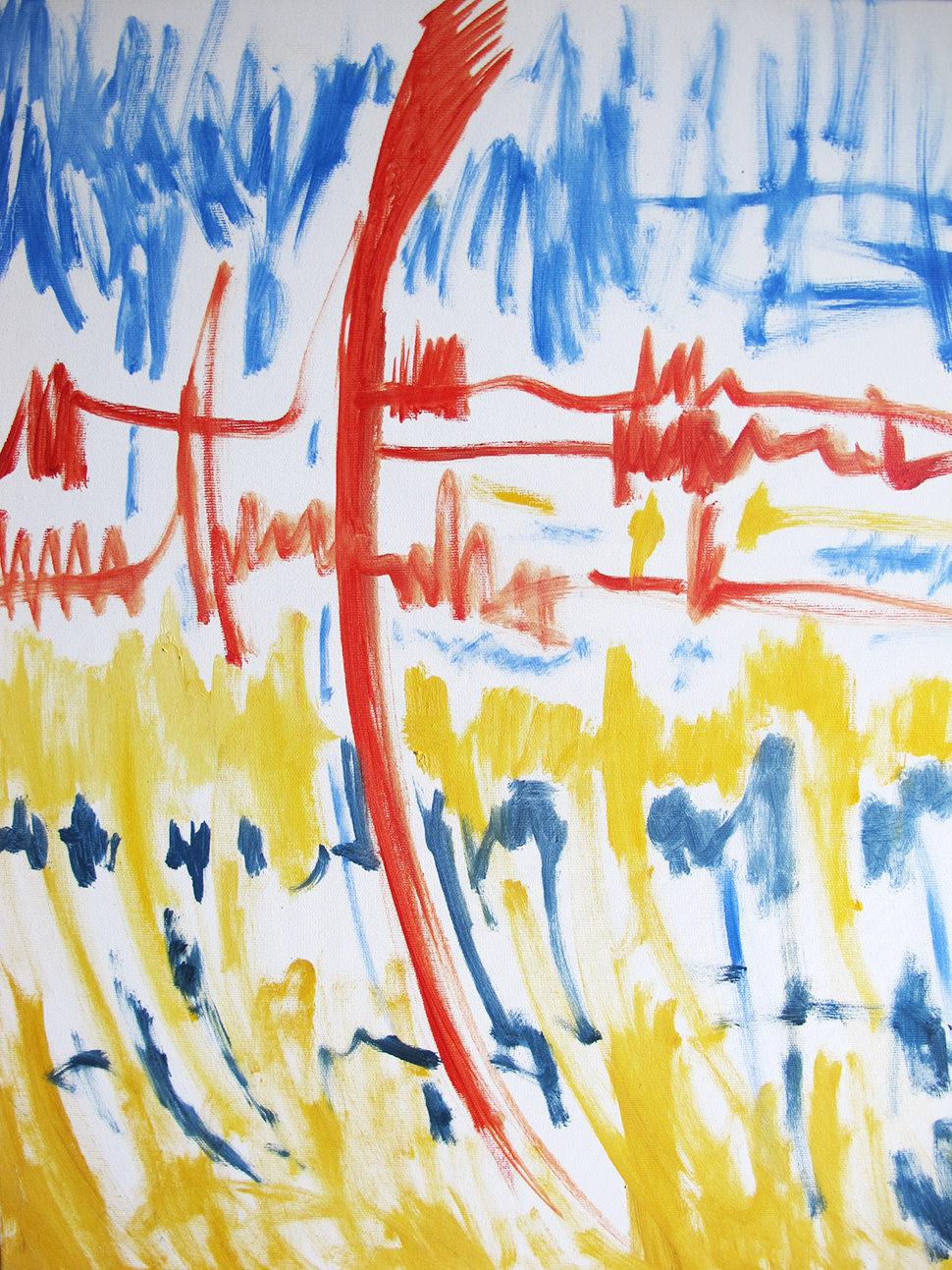 Rosso giallo blu ii